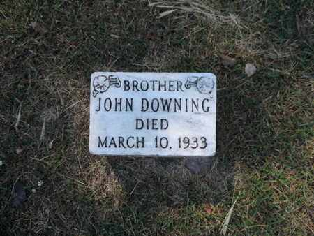 DOWNING, JOHN - Franklin County, Ohio | JOHN DOWNING - Ohio Gravestone Photos