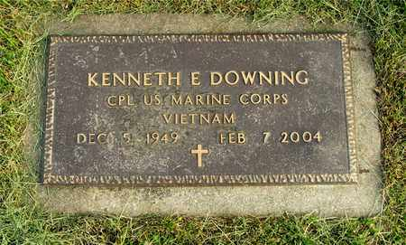 DOWNING, KENNETH E. - Franklin County, Ohio | KENNETH E. DOWNING - Ohio Gravestone Photos