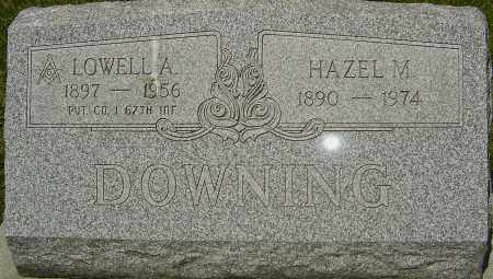 DOWNING, LOWELL A - Franklin County, Ohio | LOWELL A DOWNING - Ohio Gravestone Photos