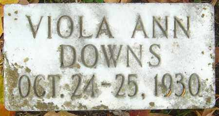 DOWNS, VIOLA ANN - Franklin County, Ohio | VIOLA ANN DOWNS - Ohio Gravestone Photos