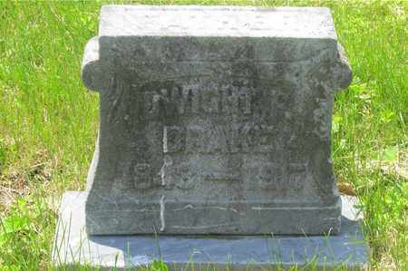 DRAKE, DWIGHT F. - Franklin County, Ohio | DWIGHT F. DRAKE - Ohio Gravestone Photos