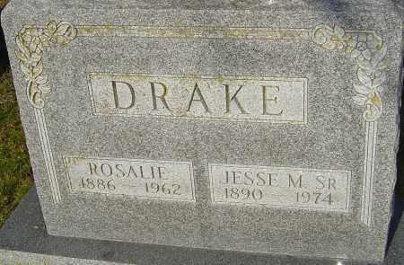 DRAKE, JESSE M - Franklin County, Ohio | JESSE M DRAKE - Ohio Gravestone Photos