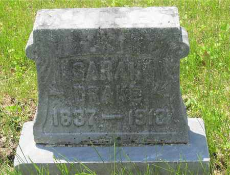 DRAKE, SARAH - Franklin County, Ohio | SARAH DRAKE - Ohio Gravestone Photos