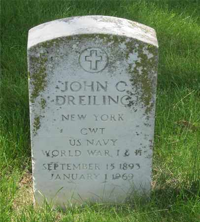 DREILING, JOHN C. - Franklin County, Ohio | JOHN C. DREILING - Ohio Gravestone Photos
