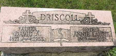 DRISCOLL, ANNIE LAURIE - Franklin County, Ohio | ANNIE LAURIE DRISCOLL - Ohio Gravestone Photos
