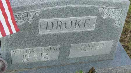 DROKE, WILLIAM - Franklin County, Ohio | WILLIAM DROKE - Ohio Gravestone Photos