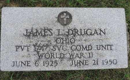 DRUGAN, JAMES L. - Franklin County, Ohio | JAMES L. DRUGAN - Ohio Gravestone Photos