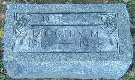 RIDENBAUGH DUDLEY, DOROTHY MARIE - Franklin County, Ohio | DOROTHY MARIE RIDENBAUGH DUDLEY - Ohio Gravestone Photos