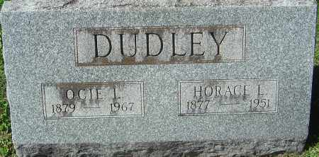DUDLEY, HORACE L - Franklin County, Ohio | HORACE L DUDLEY - Ohio Gravestone Photos
