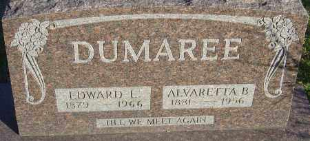 DUMAREE, ALVARETTA B - Franklin County, Ohio | ALVARETTA B DUMAREE - Ohio Gravestone Photos
