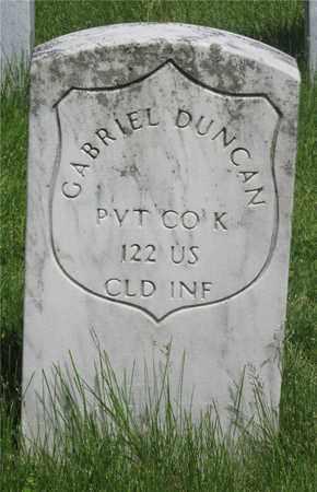 DUNCAN, GABRIEL - Franklin County, Ohio | GABRIEL DUNCAN - Ohio Gravestone Photos