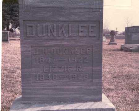 DUNKLEE, LIZZIE R. - Franklin County, Ohio | LIZZIE R. DUNKLEE - Ohio Gravestone Photos
