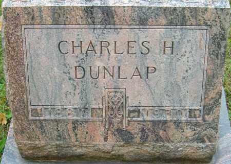 DUNLAP, CHARLES H - Franklin County, Ohio | CHARLES H DUNLAP - Ohio Gravestone Photos