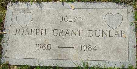 DUNLAP, JOSEPH GRANT - Franklin County, Ohio | JOSEPH GRANT DUNLAP - Ohio Gravestone Photos