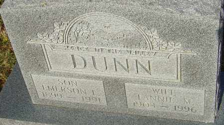 DUNN, LANNIE M - Franklin County, Ohio | LANNIE M DUNN - Ohio Gravestone Photos