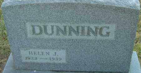 DUNNING, HELEN JEANETTE - Franklin County, Ohio | HELEN JEANETTE DUNNING - Ohio Gravestone Photos