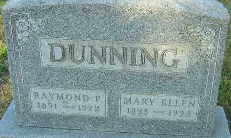 DUNNING, MARY ELLEN - Franklin County, Ohio | MARY ELLEN DUNNING - Ohio Gravestone Photos