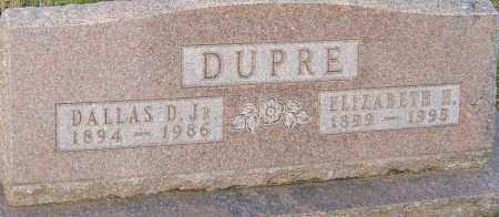 DUPRE, ELIZABETH - Franklin County, Ohio | ELIZABETH DUPRE - Ohio Gravestone Photos
