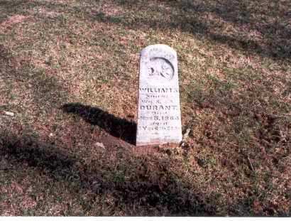 DURANT, WILLIAM S. - Franklin County, Ohio | WILLIAM S. DURANT - Ohio Gravestone Photos