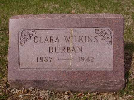 WILKINS DURBAN, CLARA - Franklin County, Ohio | CLARA WILKINS DURBAN - Ohio Gravestone Photos