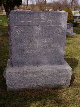 DURBAN, JACOB - Franklin County, Ohio | JACOB DURBAN - Ohio Gravestone Photos