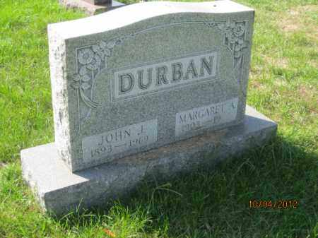 DURBAN, JOHN JACOB - Franklin County, Ohio | JOHN JACOB DURBAN - Ohio Gravestone Photos