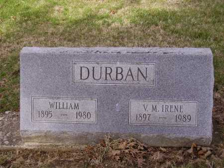 DURBAN, WILLIAM - Franklin County, Ohio | WILLIAM DURBAN - Ohio Gravestone Photos