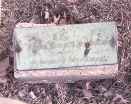 DURBORAW, ELIZABETH - Franklin County, Ohio   ELIZABETH DURBORAW - Ohio Gravestone Photos