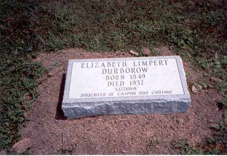 LIMPERT DURBOROW, ELIZABETH - Franklin County, Ohio | ELIZABETH LIMPERT DURBOROW - Ohio Gravestone Photos