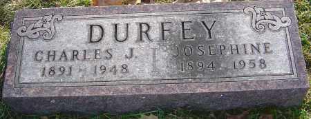 DURFEY, CHARLES J - Franklin County, Ohio | CHARLES J DURFEY - Ohio Gravestone Photos