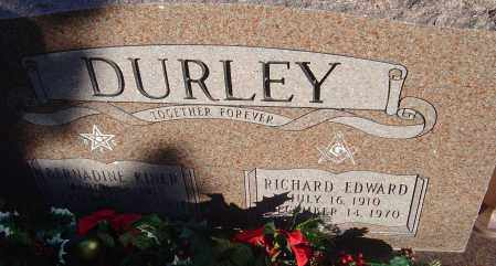 DURLEY, RICHARD EDWARD - Franklin County, Ohio | RICHARD EDWARD DURLEY - Ohio Gravestone Photos