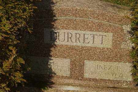 DURRETT, ALVA - Franklin County, Ohio | ALVA DURRETT - Ohio Gravestone Photos