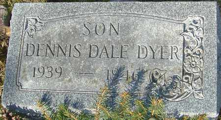 DYER, DENNIS DALE - Franklin County, Ohio | DENNIS DALE DYER - Ohio Gravestone Photos
