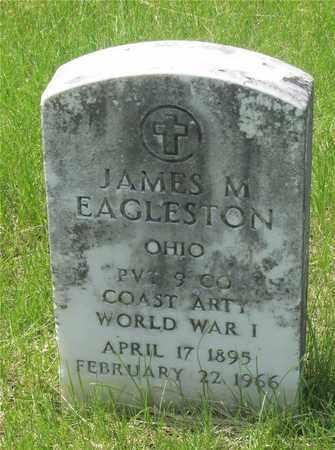 EAGLESTON, JAMES M. - Franklin County, Ohio | JAMES M. EAGLESTON - Ohio Gravestone Photos