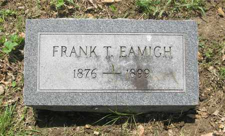 EAMICH, FRANK T. - Franklin County, Ohio | FRANK T. EAMICH - Ohio Gravestone Photos