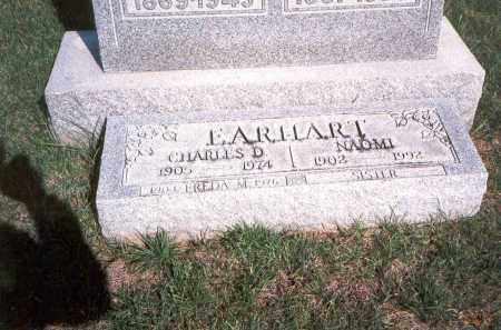 EARHART, CHARLES D. - Franklin County, Ohio | CHARLES D. EARHART - Ohio Gravestone Photos