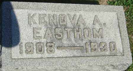EASTHOM, KENOVA A - Franklin County, Ohio | KENOVA A EASTHOM - Ohio Gravestone Photos