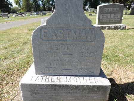 EASTMAN, JULIA M. - Franklin County, Ohio | JULIA M. EASTMAN - Ohio Gravestone Photos