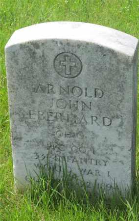 EBERHARD, ARNOLD JOHN - Franklin County, Ohio | ARNOLD JOHN EBERHARD - Ohio Gravestone Photos