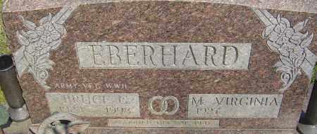 EBERHARD, BRUCE C - Franklin County, Ohio | BRUCE C EBERHARD - Ohio Gravestone Photos