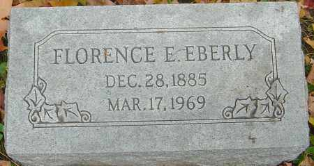 EBERLY, FLORENCE E - Franklin County, Ohio | FLORENCE E EBERLY - Ohio Gravestone Photos