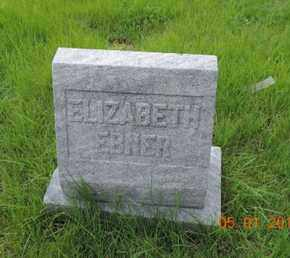 EBNER, ELIZABETH - Franklin County, Ohio | ELIZABETH EBNER - Ohio Gravestone Photos
