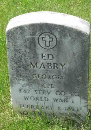 ED, MABRY - Franklin County, Ohio | MABRY ED - Ohio Gravestone Photos