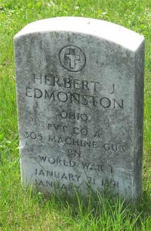EDMONSTON, HERBERT J. - Franklin County, Ohio | HERBERT J. EDMONSTON - Ohio Gravestone Photos