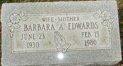 EDWARDS, BARBARA A - Franklin County, Ohio | BARBARA A EDWARDS - Ohio Gravestone Photos
