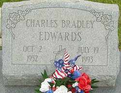 EDWARDS, CHARLES BRADLEY - Franklin County, Ohio | CHARLES BRADLEY EDWARDS - Ohio Gravestone Photos