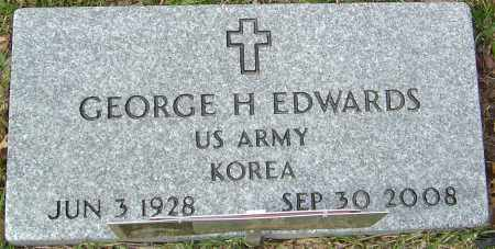 EDWARDS, GEORGE H - Franklin County, Ohio | GEORGE H EDWARDS - Ohio Gravestone Photos
