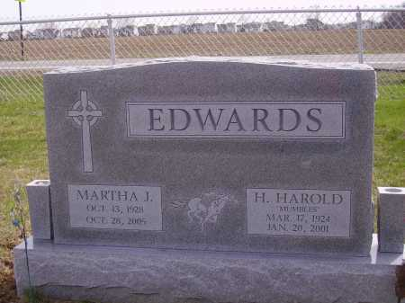 EDWARDS, MARTHA J. - Franklin County, Ohio | MARTHA J. EDWARDS - Ohio Gravestone Photos