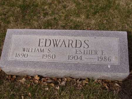 EDWARDS, WILLIAM S. - Franklin County, Ohio | WILLIAM S. EDWARDS - Ohio Gravestone Photos