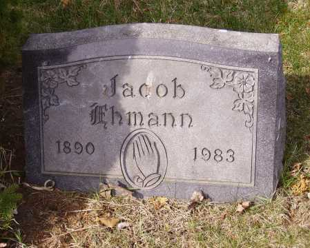 EHMANN, JACOB - Franklin County, Ohio | JACOB EHMANN - Ohio Gravestone Photos